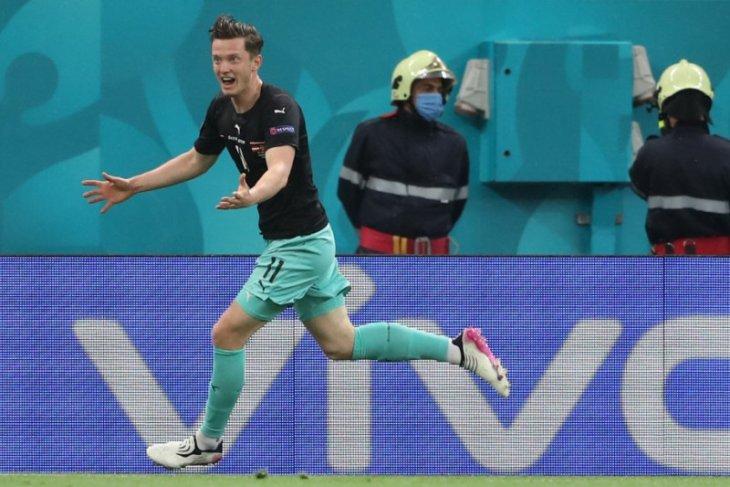 Michael Gregoritsch cetak gol ke-700 dalam putaran final Euro