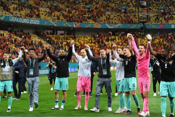Euro 2020, dua supersub bawa Austria hancurkan Makedonia Utara 3-1
