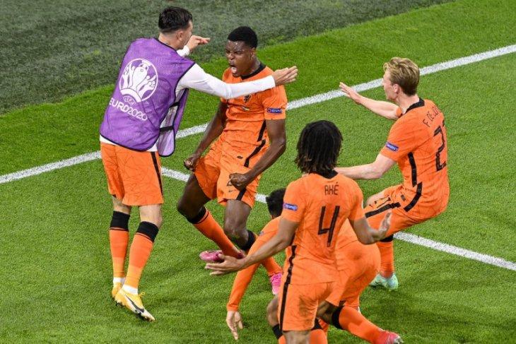Euro 2020, Belanda taklukkan Ukraina dalam drama lima gol