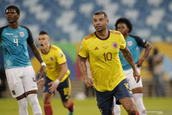 Kolombia menang tipis 1-0  atas Ekuador