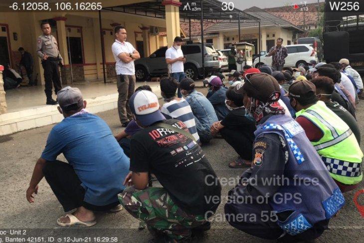 Polda Banten amankan 438 orang diduga preman