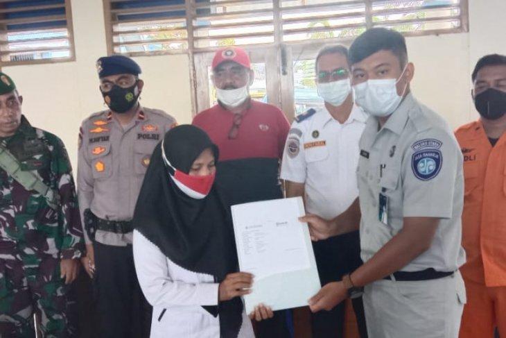 PT. Jasa Raharja Malut santuni korban kapal terbakar di Kepsul diapresiasi