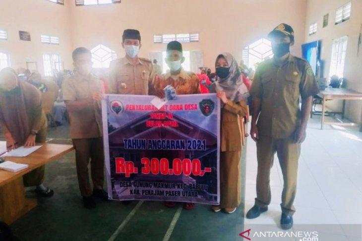 BLT-DD di Kabupaten Penajam tersalurkan Rp1,57 miliar