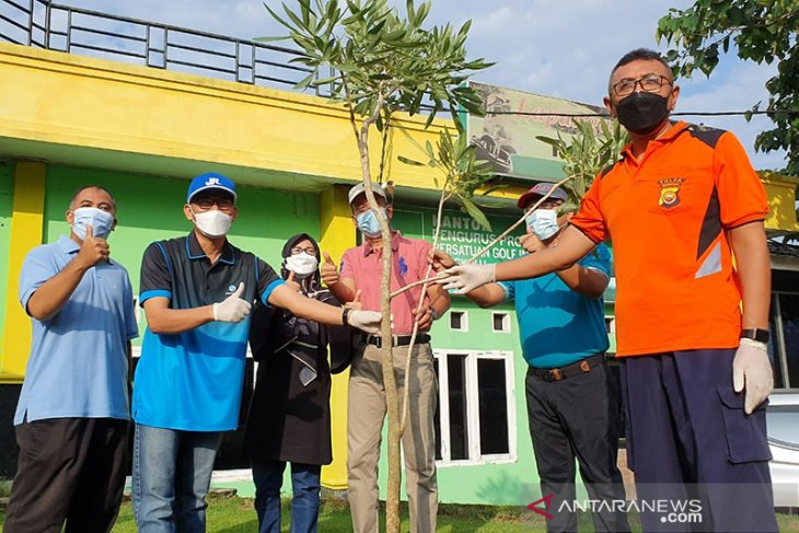 Jasa Raharja Bengkulu tanam ratusan bibit pohon peringati hari Lingkungan Hidup