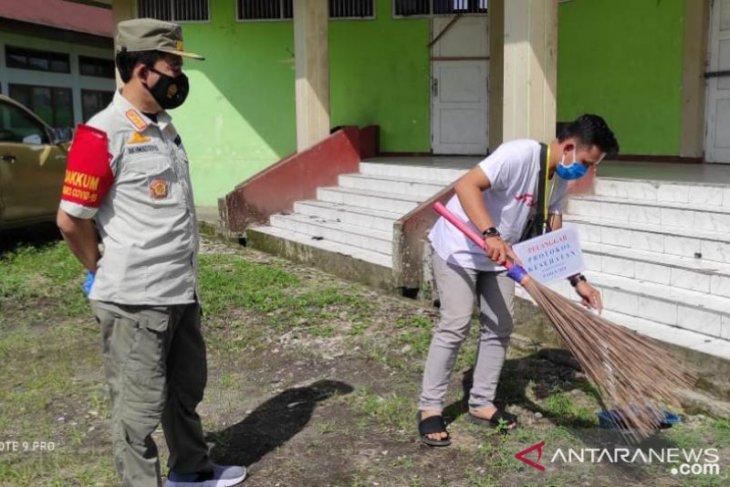 Satpol PP sosialisasikan Perda COVID-19 di Bengkulu