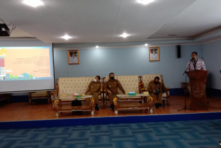 KPK lakukan monitoring dan evaluasi di  Kapuas Hulu Kalbar