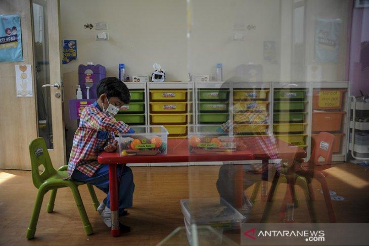 Simulasi PTM untuk TK di Bandung