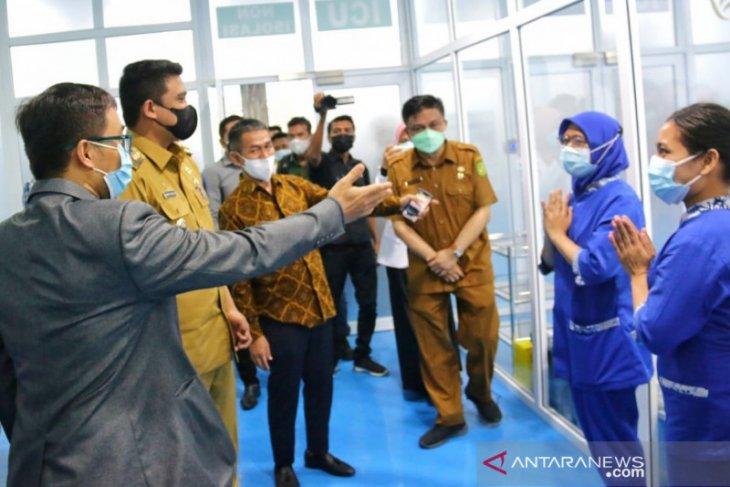 Tingkat hunian tempat tidur COVID-19 di Medan masih di atas 50 persen