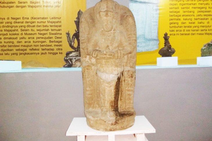 Pameran Cagar Budaya di Ambon pamerkan arca Majapahit ditemukan di Ternate