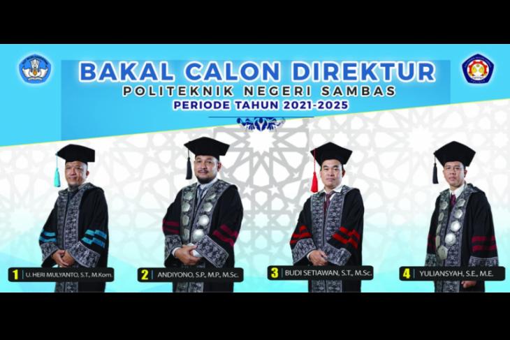 Berikut Bakal Calon Direktur Poltesa Periode 2021 - 2025