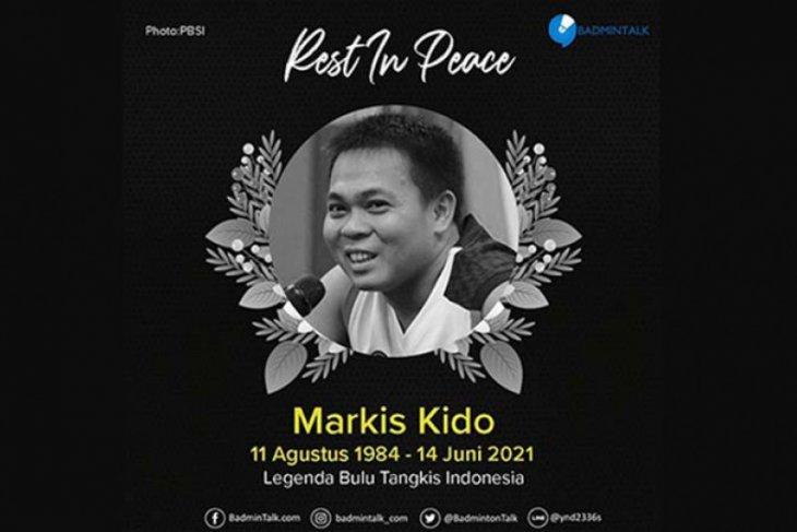 Mantan pebulu tangkis nasional Markis Kido meninggal dunia