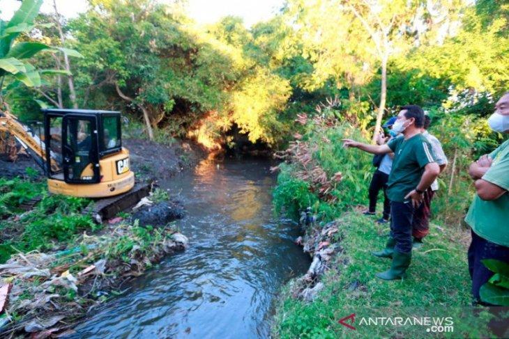 Pemkab Klungkung lakukan normalisasi Sungai Candigara