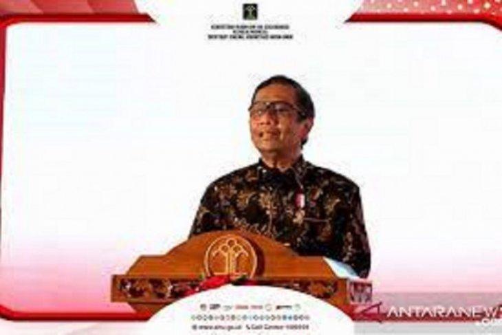 Menko Polhukam Mahfud MD ingatkan pentingnya Pancasila dalam bernegara