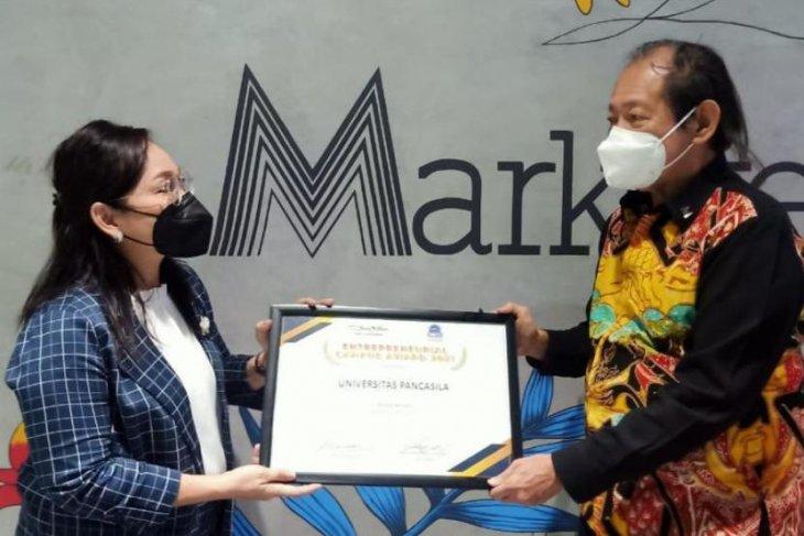 Universitas Pancasila raih kategori bronze entrepreneurial kampus award 2021
