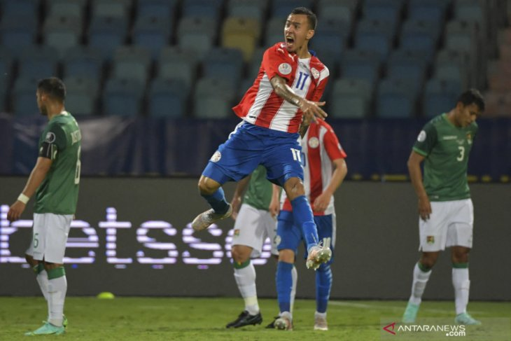 Copa America 2021: Paraguay tumbangkan sepuluh pemain Bolivia 3-1