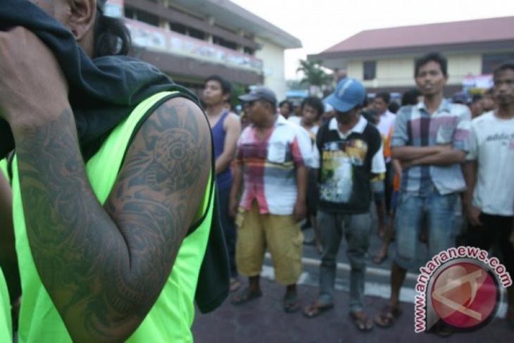 Polisi tangkap 10 orang terlibat premanisme dan pungli di Asahan