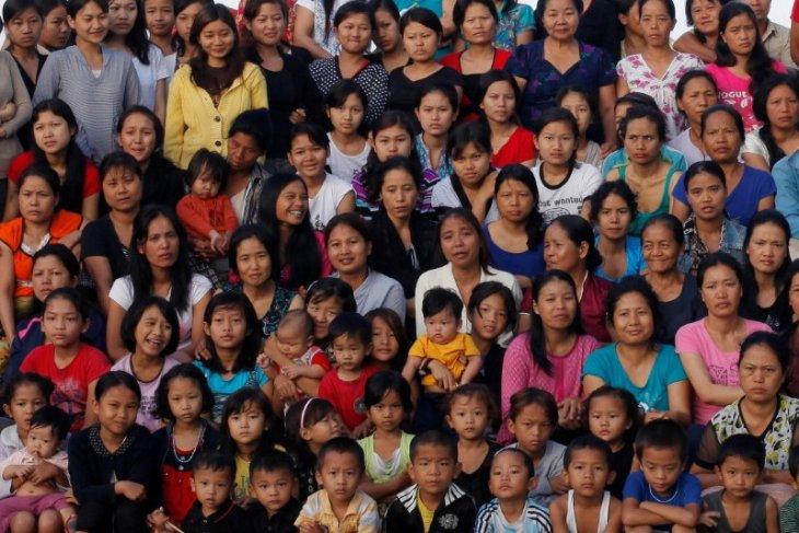 Pria yang punya 39 istri meninggal di India