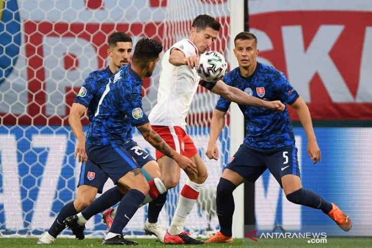 Euro 2020: Matikan pergerakan Lewandowski jadi kunci kemenangan Slovakia
