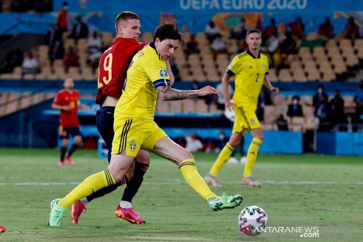 Satu poin bagi Swedia lebih penting dibanding ketimpangan statistik lawan Spanyol