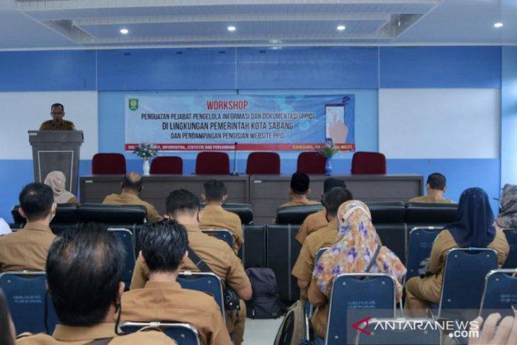 Badan publik di Sabang diminta wajib buka akses informasi