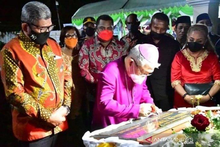 Pembangunan gereja di Maluku Tenggara libatkan semua umat beragama patut diapresiasi