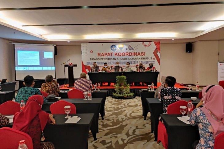 Waka DPRD bersama Komisi IV serap aspirasi Kepala SLB se-Provinsi Jambi