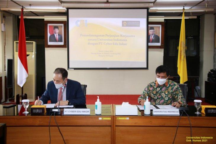 UI dan PT Cyber Edu Inkor kerja sama pendidikan daring