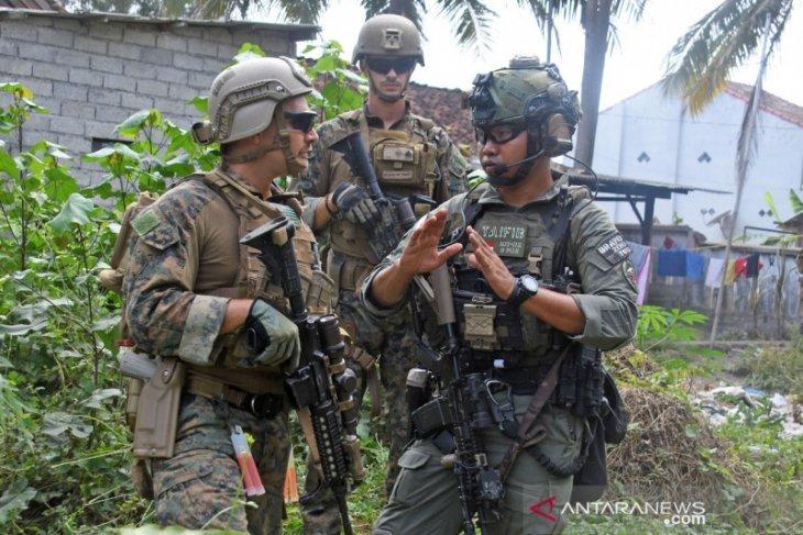 Marinir Indonesia dan AS latihan pembebasan sandera