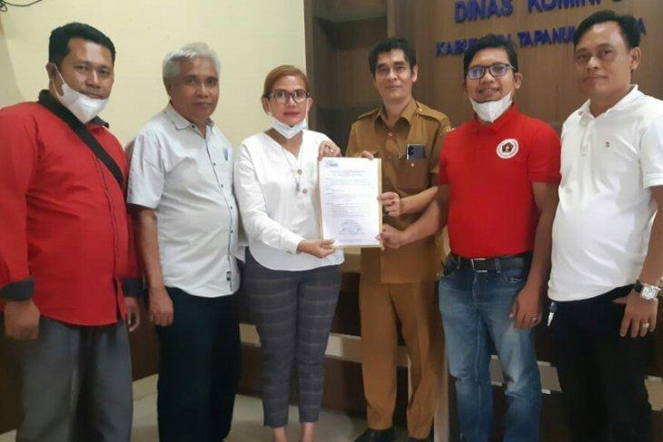 Preddy Situmorang terima mandat ketua SMSI Sibolga-Tapteng