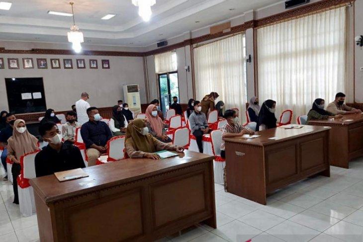 34 calon penerima beasiswa Aceh Carong di Sabang ikuti TPA dan wawancara