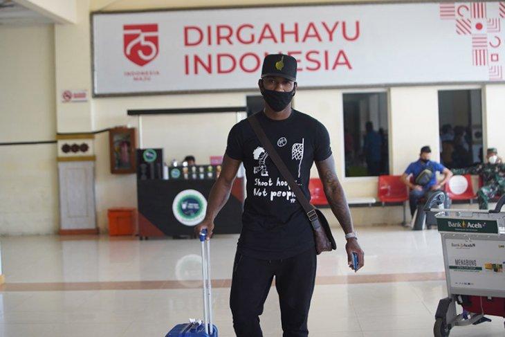 Seorang lagi, pemain asing Persiraja tiba di Aceh