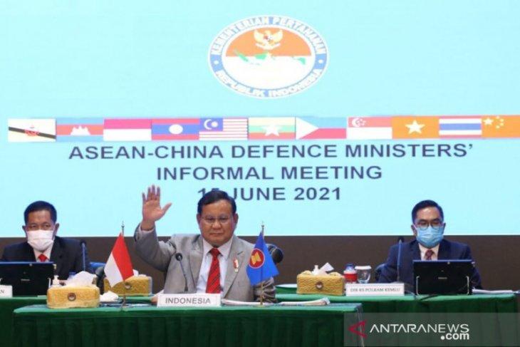 Prabowo Subianto hadiri pertemuan Menhan ASEAN-China