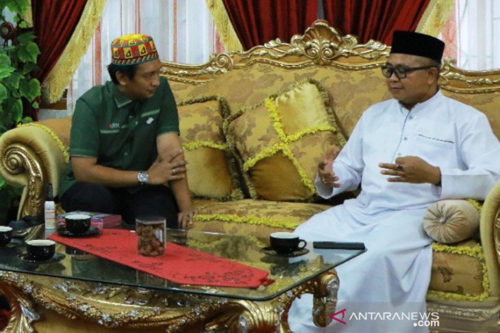 Di depan Komisaris Independen, Bupati Aceh Barat harapkan BSI mitra utama UMKM Aceh