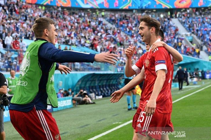 Miranchuk sebut golnya tidak lebih penting dari tiga poin bagi Rusia
