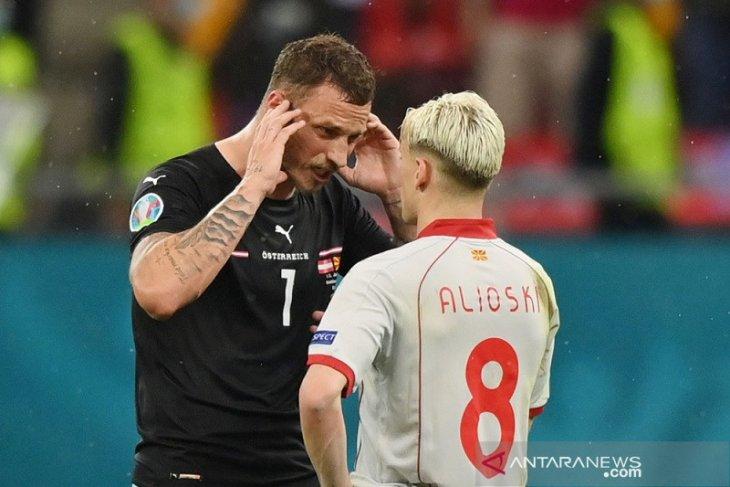 Susunan pemain Ukraina vs Austria: Arnautovic main lagi