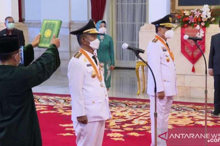Baru dilantik, Presiden beri tugas penanganan COVID-19 ke Gubernur Sulteng