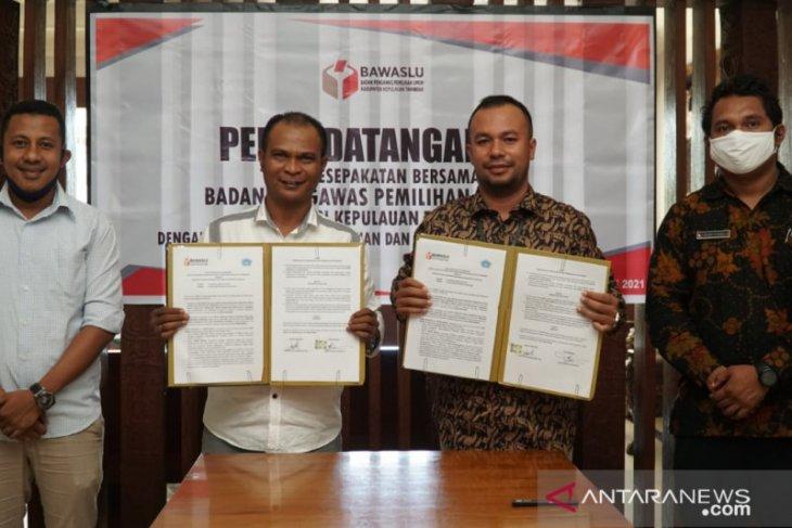 Bantu awasi Pemilu Bawaslu Kepulauan Tanimbar gandeng STKIPS