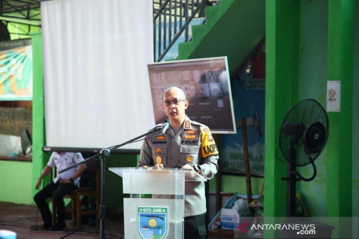 Polda Jambi dukung Satpol PP gelar operasi yustisi terkait COVID-19