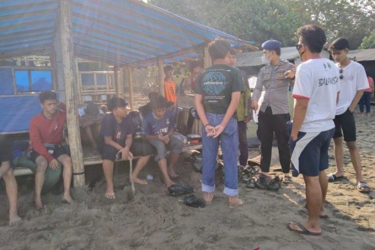 Hasbi, pelajar asal Bogor hilang tenggelam di Pantai Citepus Sukabumi