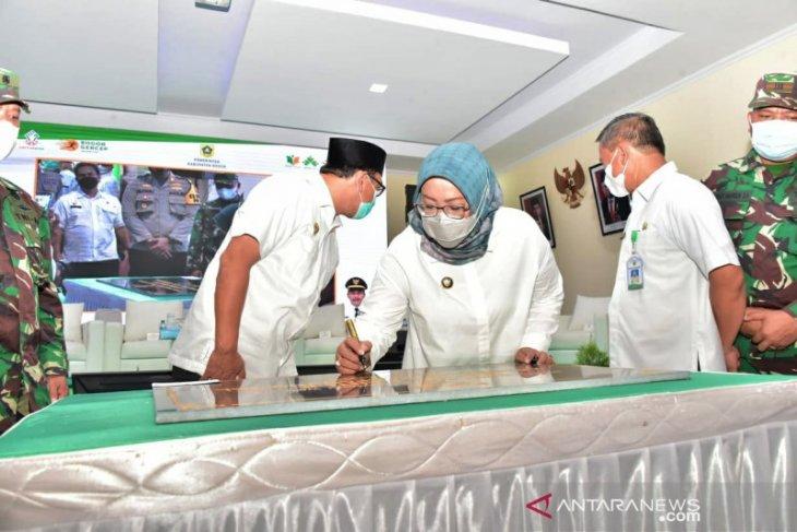 Bupati Bogor resmikan Kantor Kecamatan Klapanunggal