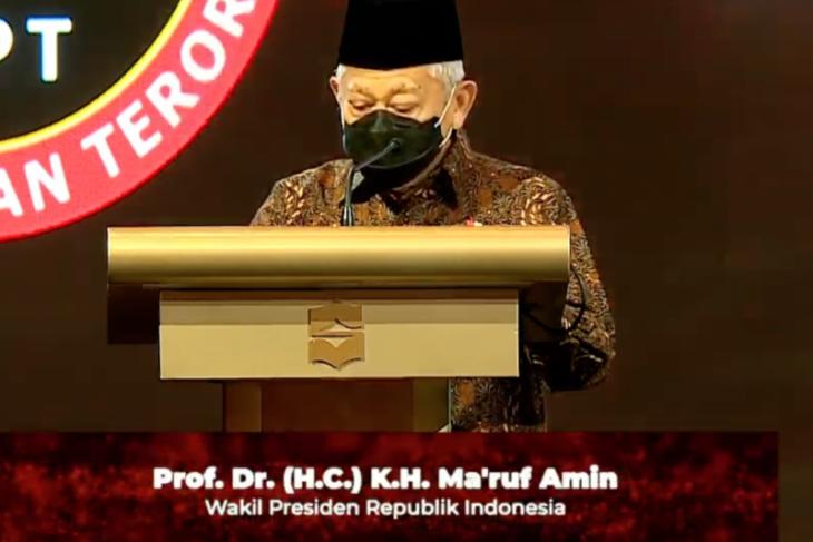 Wapres Ma'ruf Amin ingatkan ancaman radikalisme bermetamorfosis