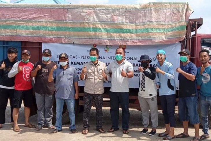 SKK Migas-PetroChina salurkan bantuan untuk korban kebakaran di Mendahara Tanjabtim