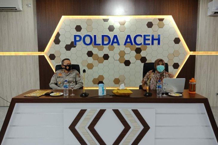 Perwira Ditbinmas Polda Aceh Dilatih lacak COVID-19