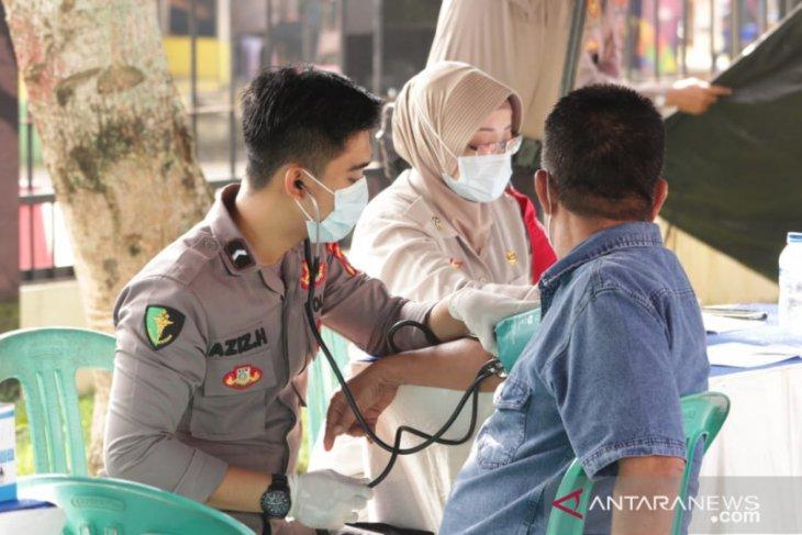 Polres Pandeglang gelar vaksinasi bagi 1.000 warga