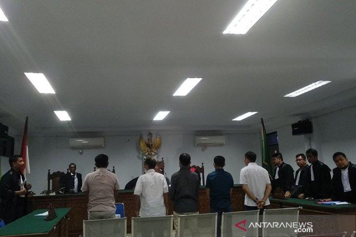 Lima koruptor proyek perbaikan jalan dan jembatan Simeulue divonis 30 bulan penjara