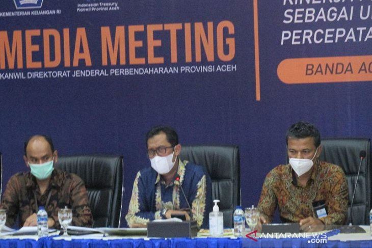 Realisasi belanja pemerintah pusat di Aceh capai Rp4,87 triliun