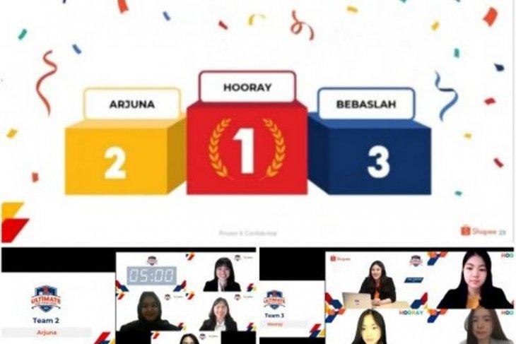 Tim Horay dan Arjuna FEB UI raih juara 1 dan 2 Shopee Ultimate Case Challenge