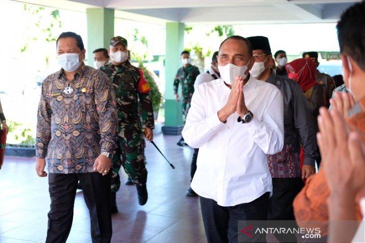 Edy Rahmayadi kunjungan kerja di Kota Padangsidimpuan