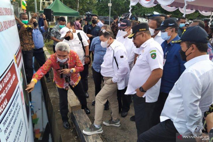 Kepala Bappenas dan Menteri KP tinjau lokasi Ambon New Port begini penjelasannya
