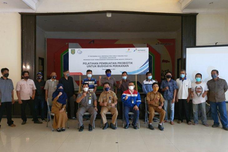Tanjung Field laksanakan pelatihan pembuatan probiotik budidaya perikanan